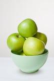 Einige frische grüne Äpfel. Lizenzfreies Stockfoto
