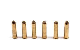 Einige Gewehrkugeln Stockbilder