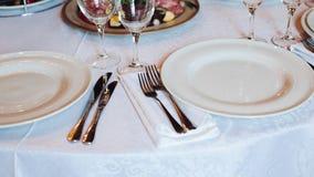 Einige Imbisse dienten auf Geburtstagsfeier- oder Hochzeitsfeier lizenzfreies stockfoto