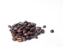 Einige Kaffeebohnen Lizenzfreies Stockfoto
