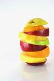 Einige Scheiben von verschiedenen frischen Früchten Lizenzfreie Stockfotografie