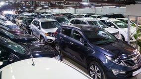 Einige verschiedene Autos Lizenzfreie Stockbilder