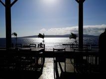 Einiger Morgen im Strand Stockfoto