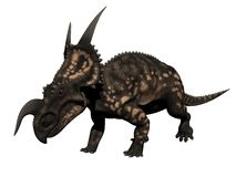 Einiosaurus dinosaur - 3d render Royalty Free Stock Photos