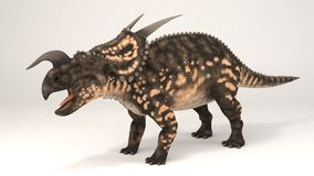 Einiosaurus-dinosauro illustrazione vettoriale