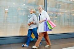 Einkauf an der Freizeit Lizenzfreie Stockfotos