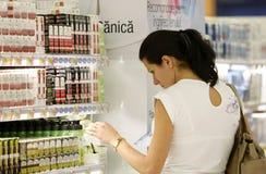 Einkauf für Kosmetik lizenzfreies stockfoto
