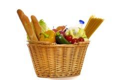 Einkauf für Nahrung Lizenzfreie Stockfotos