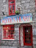 Einkauf in Galway Stockbild