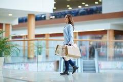 Einkauf nach Arbeit Lizenzfreies Stockbild