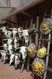 Einkauf in Santa Fe Stockbilder