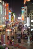 Einkaufen des neuen Jahres 2011 in Chengdu Stockbilder