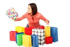 Einkaufen Desaster Lizenzfreie Stockfotografie