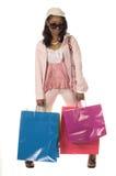 Einkaufen-Diva stockfotos