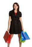 Einkaufen-Frau Lizenzfreies Stockbild