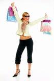 Einkaufen-Mädchen 2 Lizenzfreies Stockbild