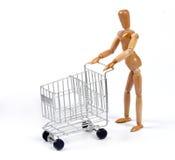 Einkaufen-Mann Lizenzfreies Stockbild