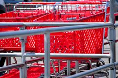 Einkaufen-Wagen Stockbilder
