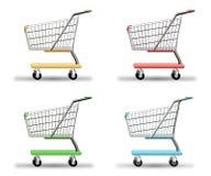 Einkaufen-Wagen stock abbildung