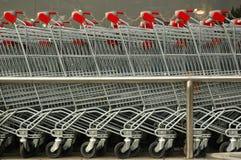 Einkaufen-Wagen   Lizenzfreies Stockfoto