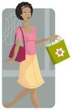 Einkaufenabbildungserie