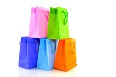 Einkaufenbeutel Stockfotos