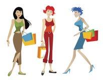 Einkaufenfrau Lizenzfreies Stockfoto
