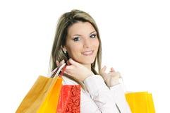 Einkaufenfrau Stockfotos