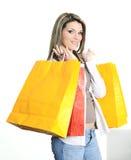 Einkaufenfrau Lizenzfreies Stockbild