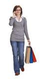 Einkaufenkommunikation Stockbilder