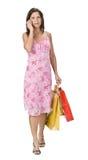 Einkaufenkommunikation Lizenzfreie Stockfotos
