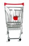 Einkaufenlaufkatze Lizenzfreies Stockbild