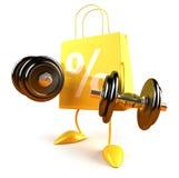 Einkaufenleistung Lizenzfreies Stockfoto