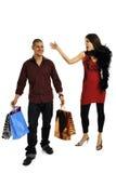 Einkaufenpaare Lizenzfreie Stockbilder