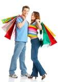 Einkaufenpaare Lizenzfreie Stockfotografie