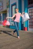 EinkaufenShowoff Stockfoto