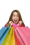 Einkaufenspaß Stockfoto