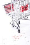 Einkaufentag Stockfotografie