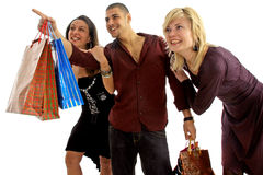Einkaufentag lizenzfreies stockfoto