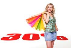 Einkaufenverkauf Stockfoto