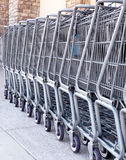 Einkaufenwagen Lizenzfreie Stockfotografie