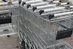 Einkaufenwagen Lizenzfreies Stockfoto