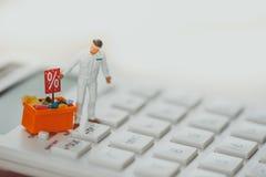 Einkaufs- und E-Commerce-Konzept lizenzfreies stockbild
