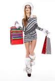 Einkaufsfrau Stockbild