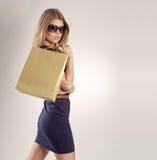 Einkaufsfrau Lizenzfreie Stockfotos