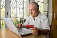 Einkaufsinternet Lizenzfreie Stockfotos