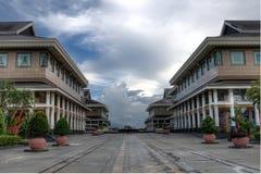 Einkaufskomplex in Bandar Seri Begavan Lizenzfreies Stockbild