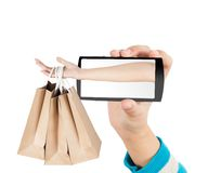 Einkaufskonzept Lizenzfreie Stockfotografie