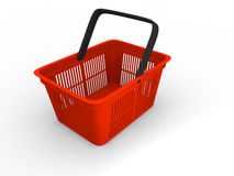 Einkaufskorb Lizenzfreie Stockfotos