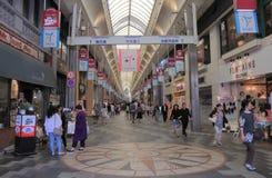 Einkaufssäulengang Kyoto Japan Stockfotos